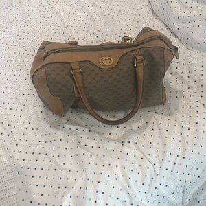 Very vintage authentic Gucci dr bag